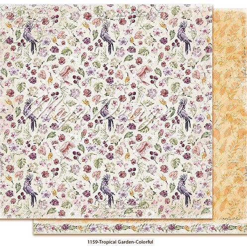 Maja Design Papier - Tropical Garden - Colorful