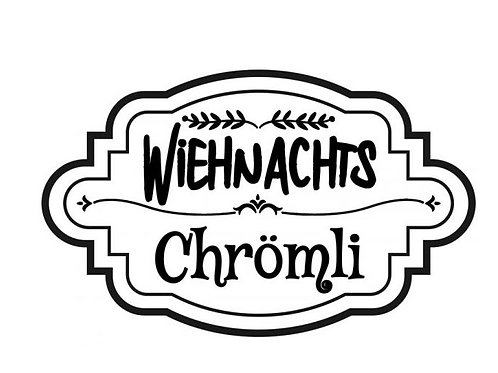 "Holzstempel Design by Susann ""Weihnachts Chrömli"" 6 x 4 cm"