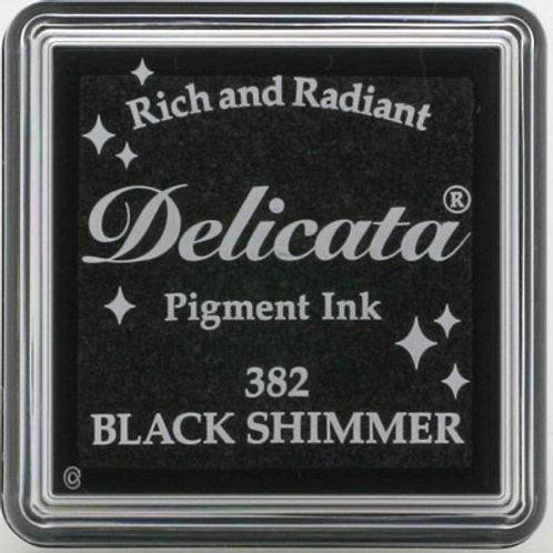 Stempelkissen mini (3x3cm) Black Shimmer