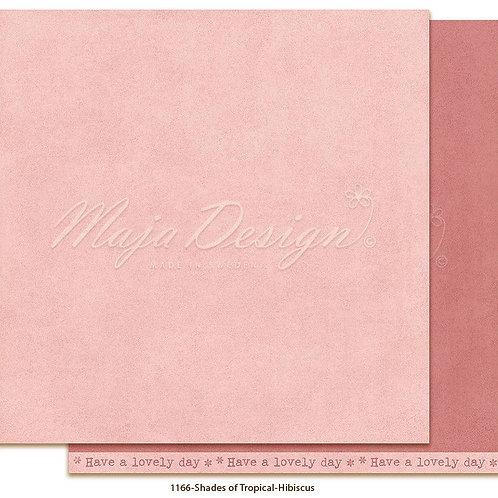 Uni Maja Design Papier - Mono - Tropical - Hibiscus