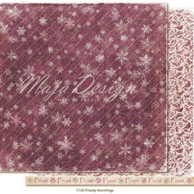Maja Design Papier -Winter is coming - Frosty mornings