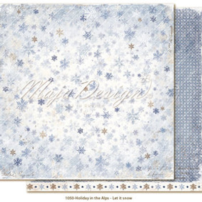 Maja Design Papier - Holiday in the Alps Let it snow