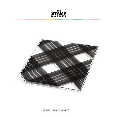 Clear Stamp BACKGROUND Jumbo Quadrate  von The Stamp Market