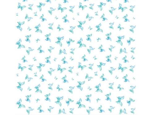 Designpapier Schmetterlinge 138