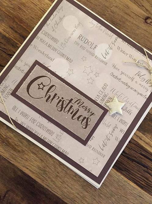 Weihnachtskarte design bei Isa, Merry Christmas,Lieder