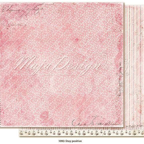 Maja Design Papier-Miles Apart - Stay positive