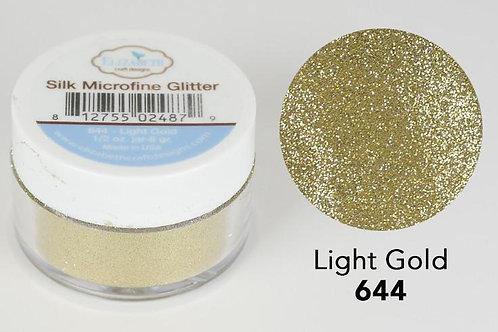 Microfine Glitter von Elizabeth Craft Light Gold