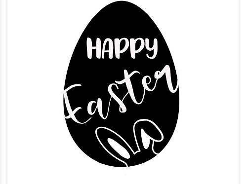"""Holzstempel Design by Susann """"Happy Easter"""""""
