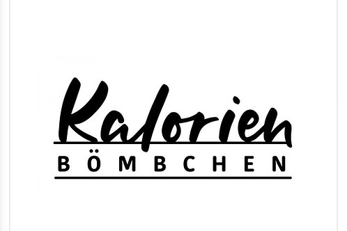 Holzstempel design by Marlène Kalorien Bömbchen 6x3 cm