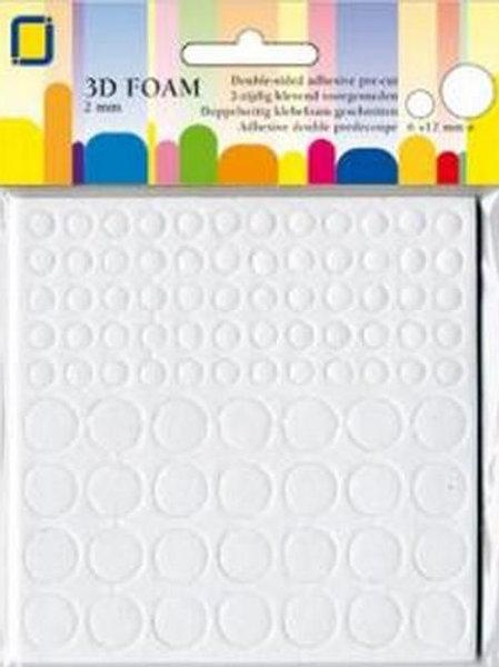 3D Foam Pads 2 mm Kreise