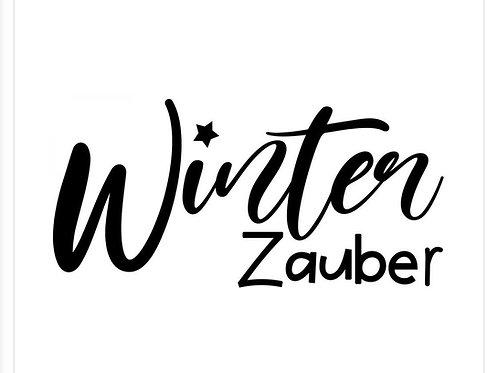 Holzstempel by Isa Winter Zauber 4x2cm