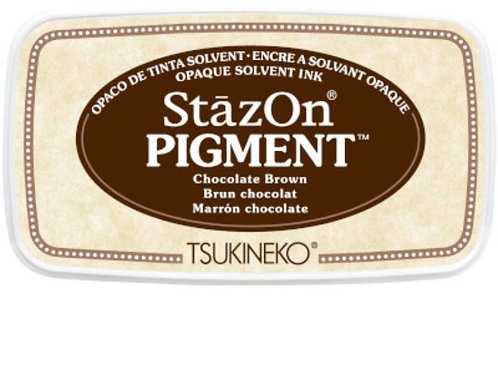 Stempelkissen StazOn Pigment, Chocolate Brown