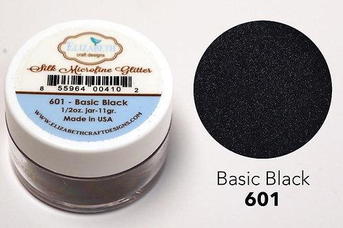 Microfine Glitter von Elitabeth Craft Black