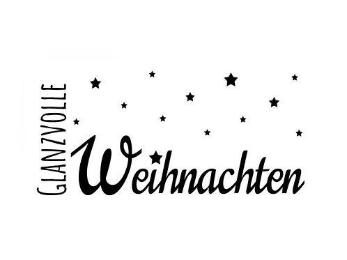 """Holzstemepl Design by Susann """"Glanzvolle Weihnachten"""""""