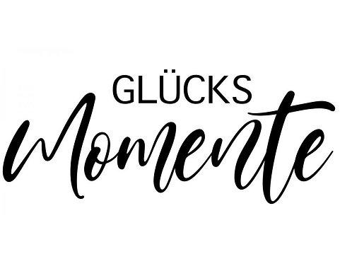 1017 Holzstempel by Isa KLEIN Glücks Momente 4x2cm