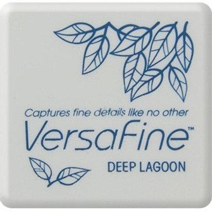 Stempelkissen Versafine Deep Lagoon klein 3x3cm