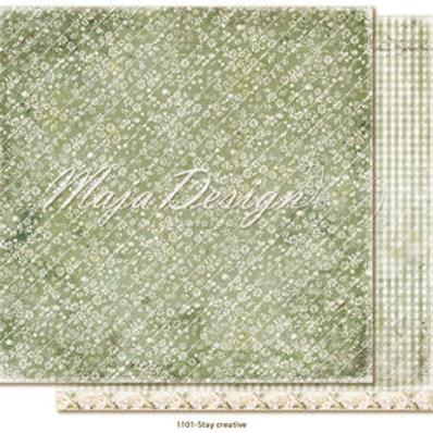 Maja Design Papier - Miles Apart - Stay Creative