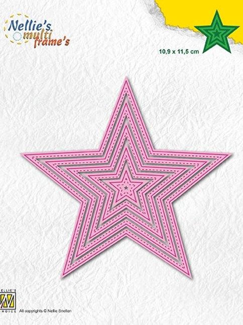Stanzformen 5-Punkte- Stern (5teilitg)