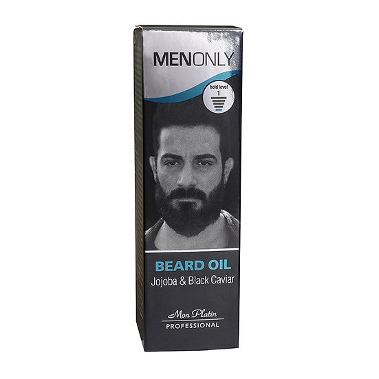Beard oil jojoba & black caviar 30 ml