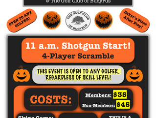 2018 Hell or Highwater Golf Scramble!