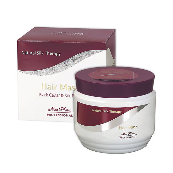 Hair mask natural silk therapy and black caviar