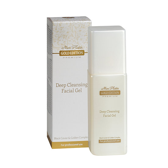 Gold edition deep cleansing facial gel
