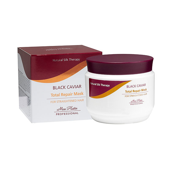 Hair mask for straightened hair black caviar