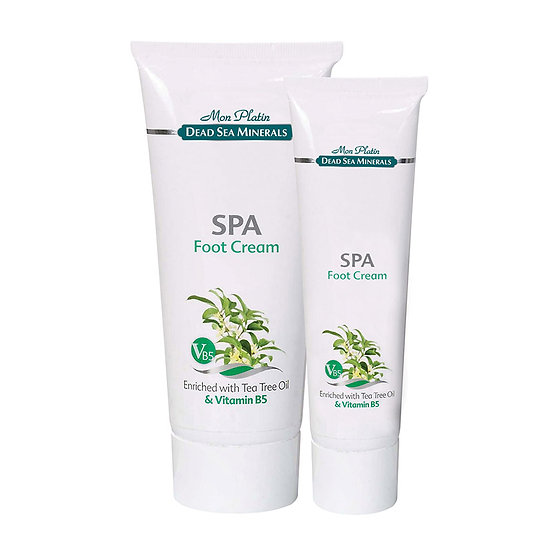 Foot cream with tea trea oil and vitamin B5