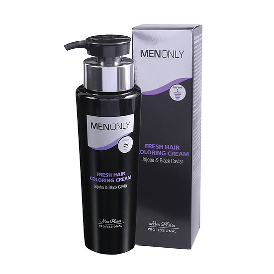 Fresh hair coloring cream for men 250ML