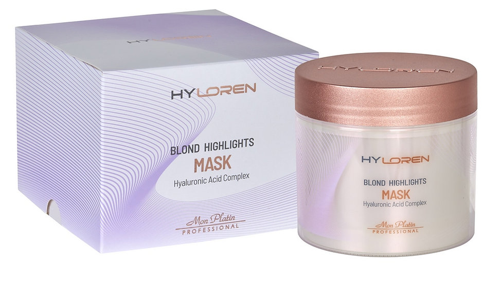 HY LOREN PREMIUM №2 Blond hair highlights mask