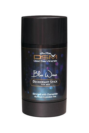Deodorant Stick For Men - Blue Wave Aluminum & paraben free