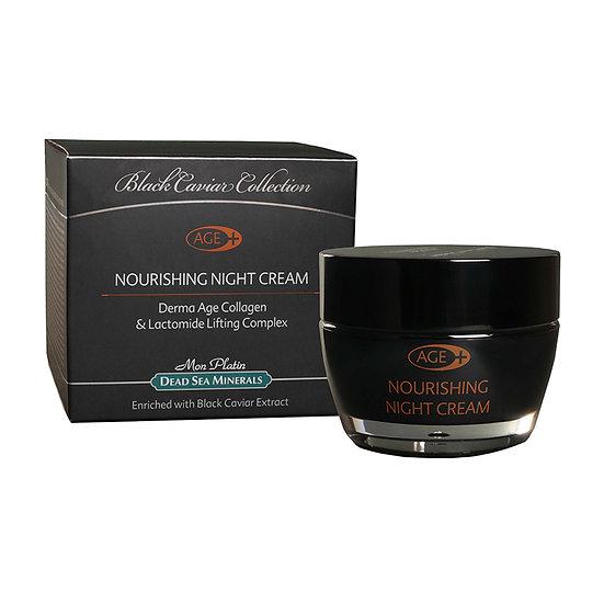 Nourishing night cream derma-age black caviar