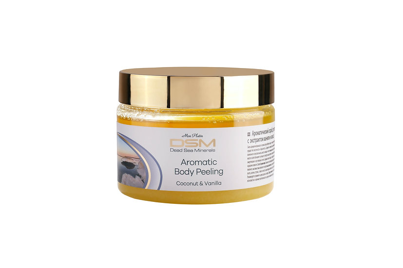 Aromatic body peeling Coconut & Vanila