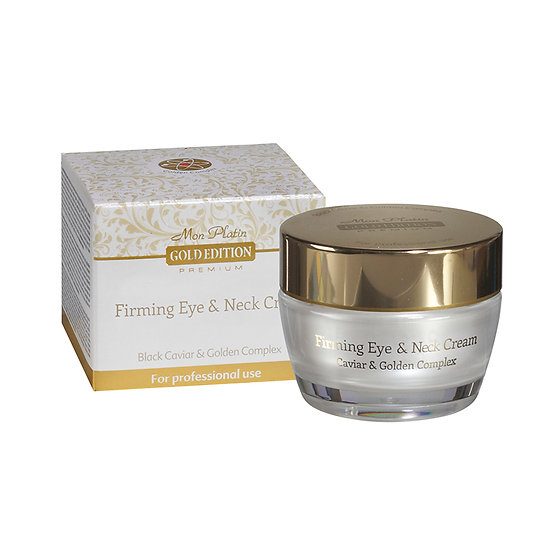Gold edition firming eye and neck cream