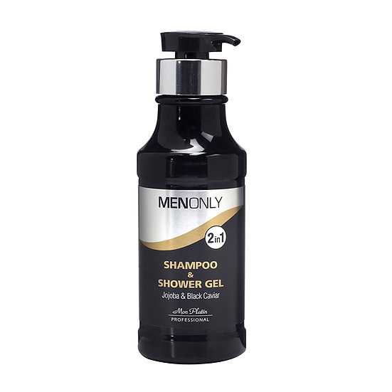 Shampoo & shower gel jojoba & black caviar 400ML
