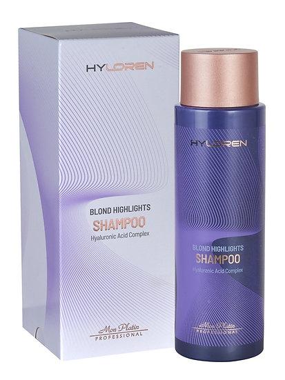 Hy Loren Premium No1 Blond hair highlights shampoo