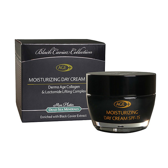 Moisturizing day cream derma-age plus Black caviar