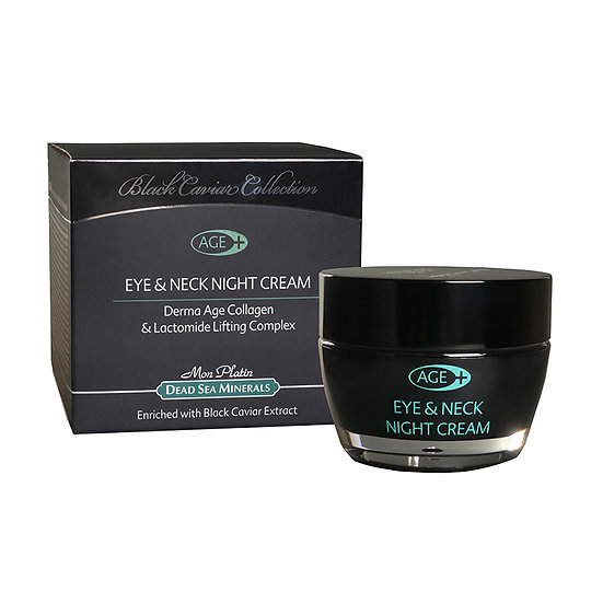 Eye&Neck night cream derma-age black caviar