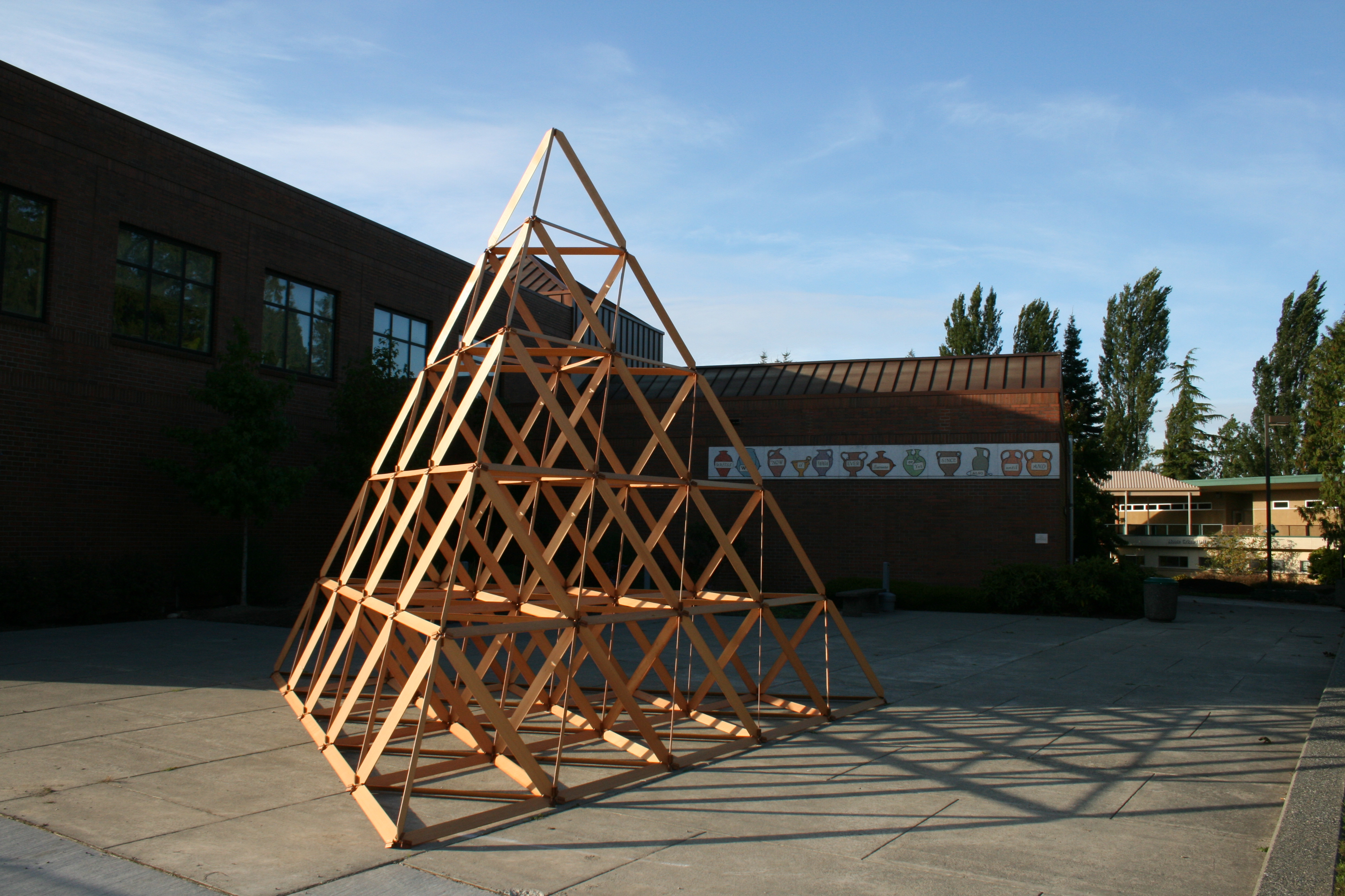 Tetrahedral Space Frame