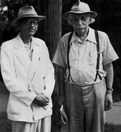 Albert Einstein & Kurt Godel