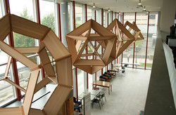 The Five Platonic Solids, Suspended
