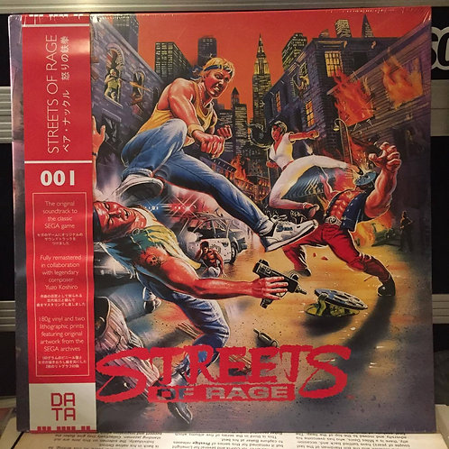 "Yuzo Koshiro ""Streets Of Rage"" Soundtrack SEALED Rare Limited Edition"