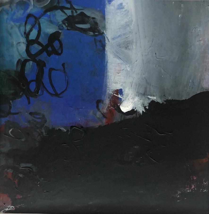 White Light Blue Black rockpool