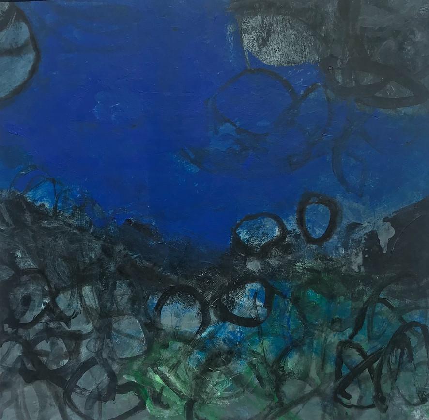 Blue Green Stones ilfracombe rockpool