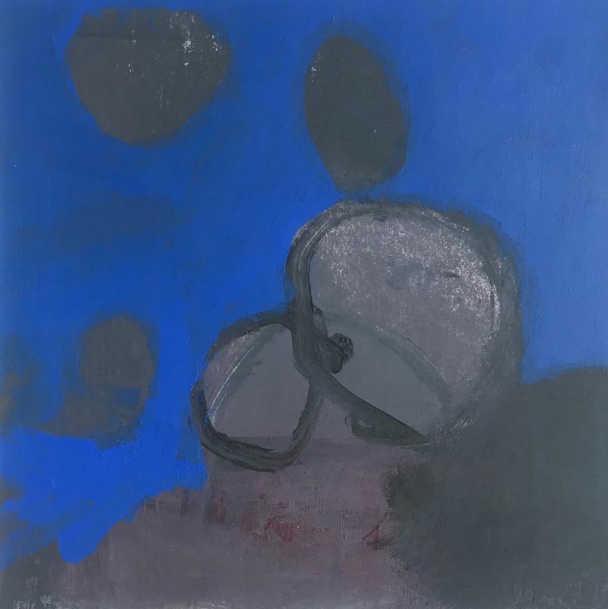 Deep Blue with Grey Stones rockpool