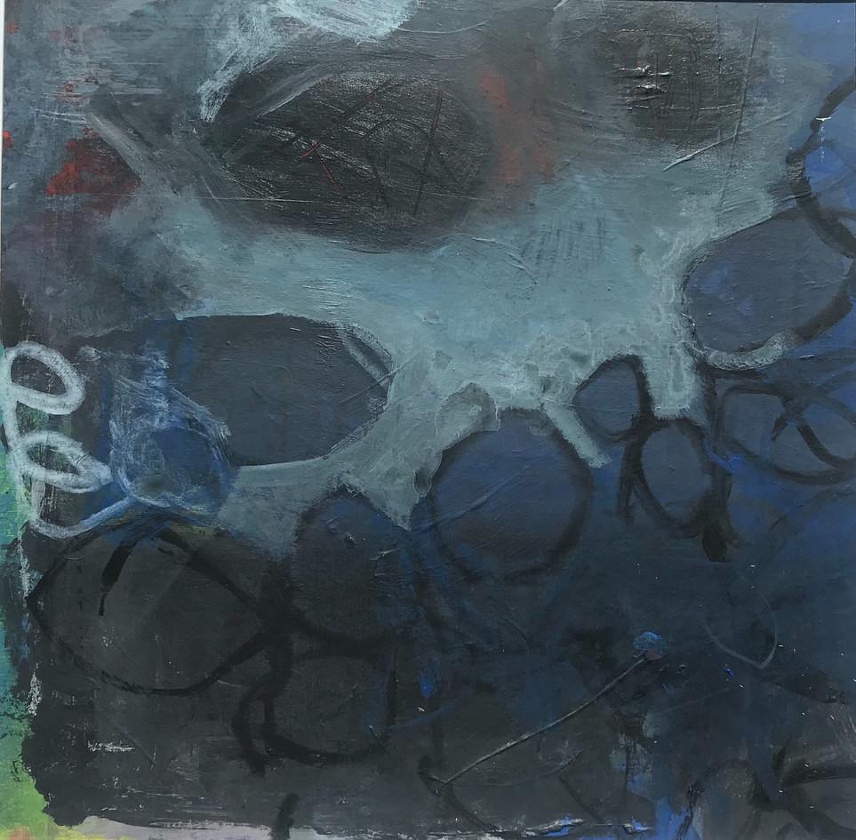 Blue with White Ilfracombe rockpool