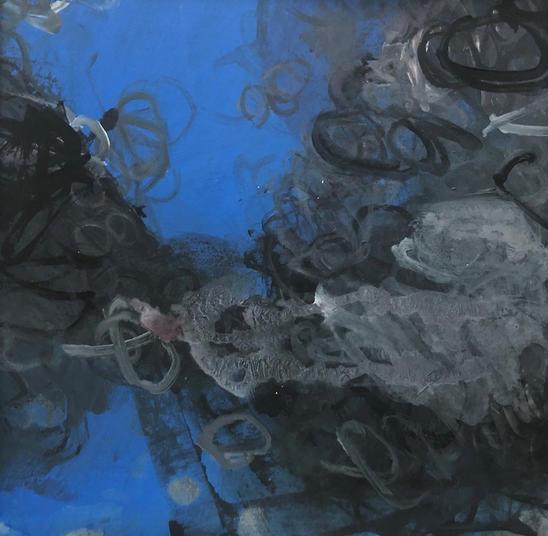 Deep Blue Grey Saunton Sandsrockpool