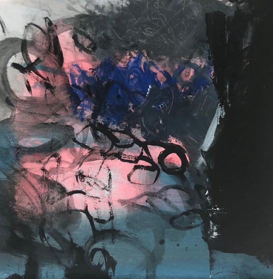 Blue Pink rockpool