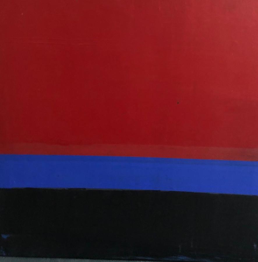 Red Blue Black Sunset