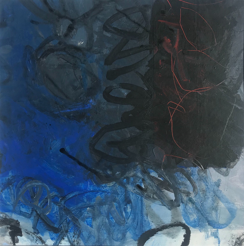 Blue Black Red rockpool